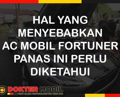 ac mobil fortuner panas